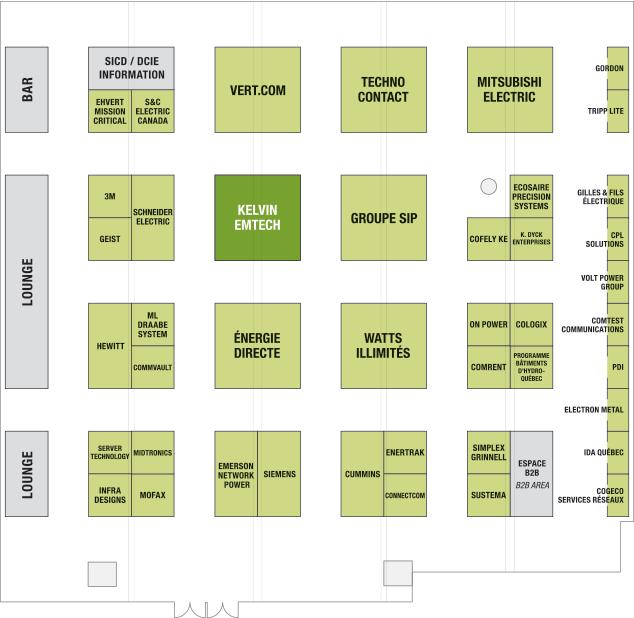 Data center innovation expo floor plan for Data center floor plan